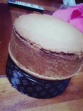 おばあちゃんの スポンジケーキ