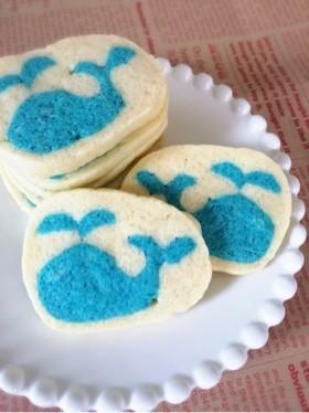 夏♪海♪可愛い♡鯨アイスボックスクッキー