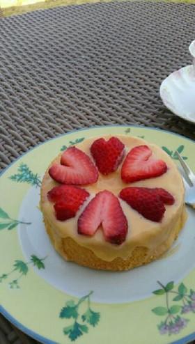 かわいい!!こがしバターシフォンケーキ