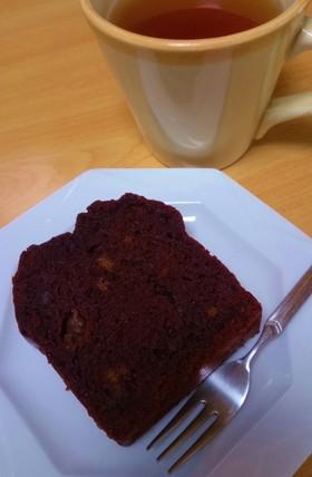 バター不使用 しっとりチョコレートケーキ