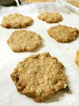 砂糖不使用 全粒粉オートミールクッキー