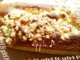 りんごのクランブルパウンドケーキ♪