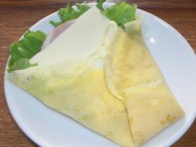 ハムチーズクレープ