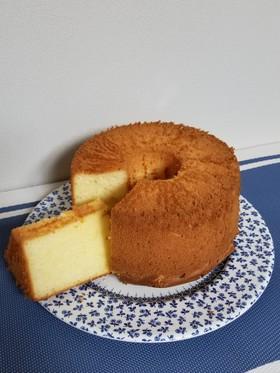 しっとり!!ヨーグルトシフォンケーキ
