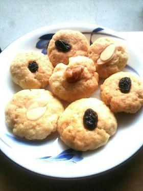 ココナッツオイル香るおから素朴クッキー