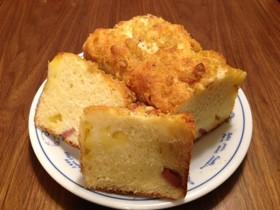 絹ごし豆腐とホットケーキMIXで簡単パン