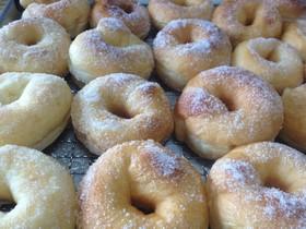ホームベーカリーでパン屋さんのドーナツ!