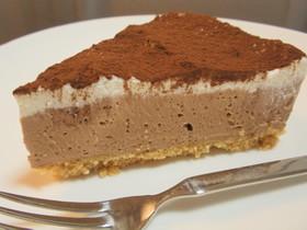絶品♡チョコチーズケーキ