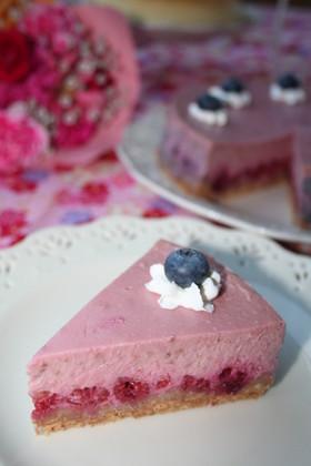 ♡ラズベリーニューヨークチーズケーキ♡