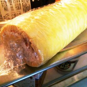 【大人の…】バナナロールケーキ