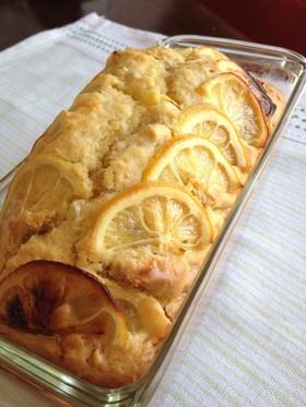 レモンのパウンドケーキ 〜胡桃入り