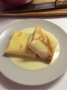 バタークリームのクレープ・アングレーズ