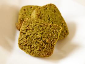 濃いめ抹茶のザクザククッキー♡