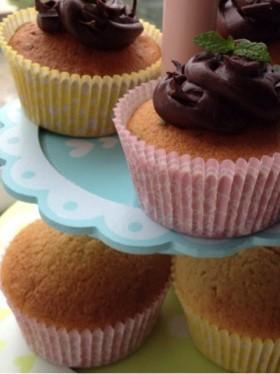 ♡簡単カップケーキ♡