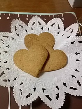 米粉と白胡麻のさっくさくクッキー♪