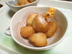 手間なし簡単♪豆腐ドーナツ