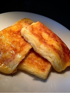 簡単☆シンプルぷるぷるフレンチトースト