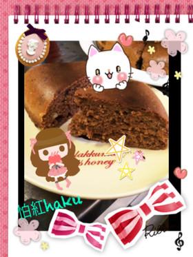 チョコバナナパンケーキ【炊飯器】