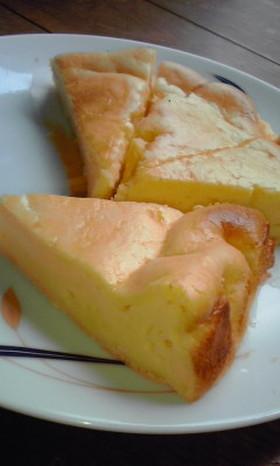 褒められおやつ☆スフレチーズケーキ