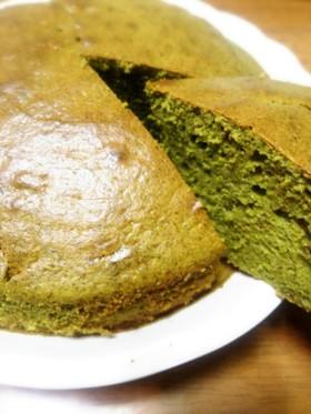 簡単!HMで抹茶のパウンドケーキ!