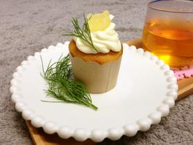 はちみつレモンのふわふわプチカップケーキ