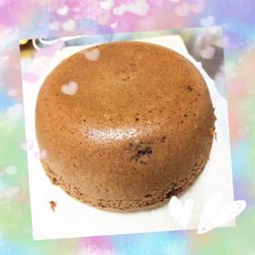 炊飯器でチョコラズベリーケーキ