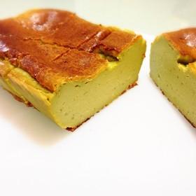 簡単混ぜるだけ‼︎濃厚抹茶チーズケーキ