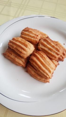 ハードなレモンと豆腐のクッキー