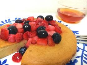 炊飯器で簡単!!モチっとパンケーキ