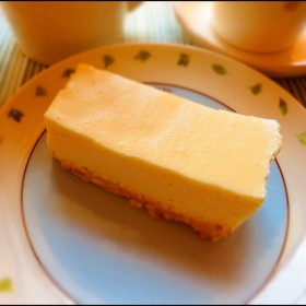 母自慢!我が家のレアチーズケーキ