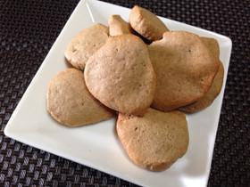 ノンオイル!大豆粉クッキー
