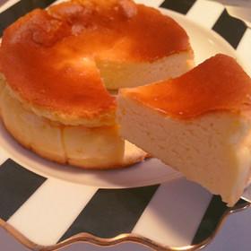 簡単&絶品♡大人向け濃厚チーズケーキ