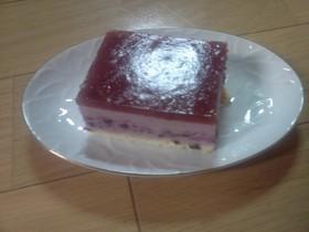 ブルーベリー・ムース・ケーキ
