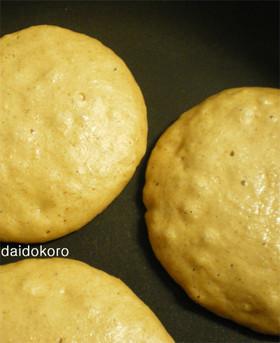 小麦粉不使用・オートミールパンケーキ