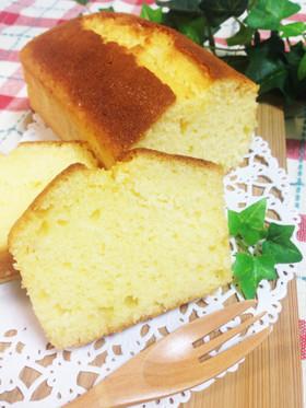 ヨーグルトで♡簡単ふわふわパウンドケーキ