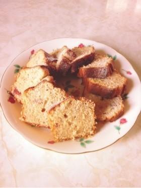 シンプルなジャムパウンドケーキ♪
