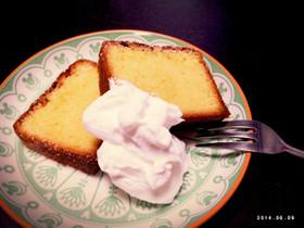 バターケーキ( カトルカール )