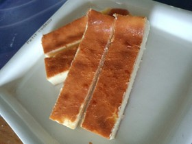 フープロでスティクチーズケーキ