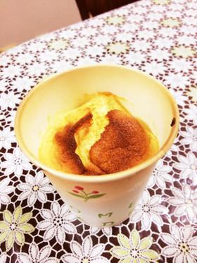 ノンオイル!マンゴーの米粉シフォンケーキ