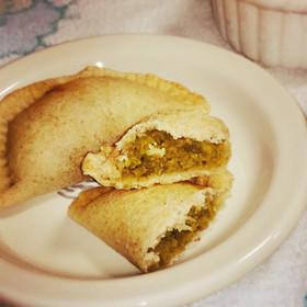 ゆるマクロビ*えんどう豆のパイ。