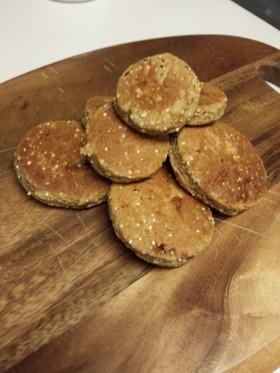 フライパンで☆キヌア黒糖クッキー