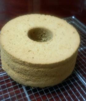 米粉de黒糖シフォンケーキ