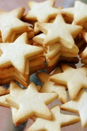 型抜き♡バタークッキー