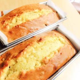 ままの優しいパウンドケーキ♪♪