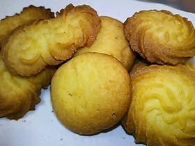 アーモンド香る♪サクホロ☆バタークッキー