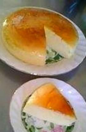 本格・濃厚!スフレチーズケーキ