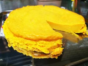 かぼちゃのプリンケーキ