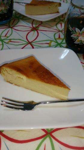 糖質制限♪太らない豆乳チーズケーキ★
