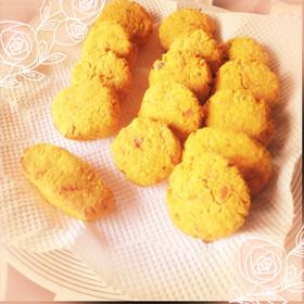 しっとりおからクッキー(南瓜)