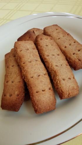 マスカルポーネと全粒粉のクッキー